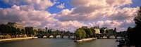 France, Paris, Seine River Fine-Art Print