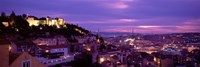 Elevated View Of The City, Skyline, Cityscape, Lisbon, Portugal Fine-Art Print
