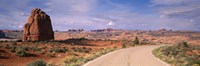 Road Courthouse Towers Arches National Park Moab UT USA Fine-Art Print