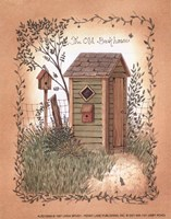 Old Backhouse Fine-Art Print