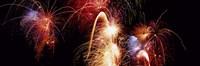 Fireworks Display, Banff, Alberta, Canada Fine-Art Print