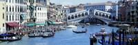 Rialto Bridge & Grand Canal Venice Italy Fine-Art Print