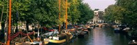 View of a Canal, Netherlands, Amsterdam Fine-Art Print