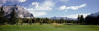 Golf Course Banff Alberta Canada Fine-Art Print