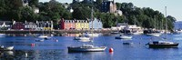 Boats docked at a harbor, Tobermory, Isle of Mull, Scotland Fine-Art Print