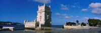 Fort at the coast, Torre De Belem, Lisbon, Portugal Fine-Art Print