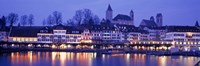 Evening, Lake Zurich, Rapperswil, Switzerland Fine-Art Print
