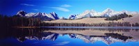 Little Redfish Lake Mountains ID USA Fine-Art Print