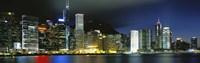 View From Wanchai, Central District, Hong Kong Fine-Art Print
