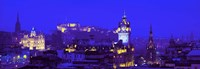Evening, Royal Castle, Edinburgh, Scotland, United Kingdom Fine-Art Print