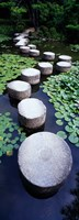 Shrine Garden, Kyoto, Japan Fine-Art Print