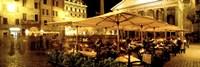 Cafe, Pantheon, Rome Italy Fine-Art Print
