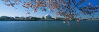 Monument at the waterfront, Jefferson Memorial, Potomac River, Washington DC, USA Fine-Art Print