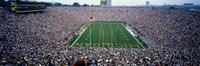 University Of Michigan Football Game, Michigan Stadium, Ann Arbor, Michigan, USA Fine-Art Print