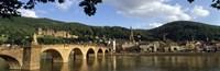 Bridge across a river, Heidelberg Germany Fine-Art Print