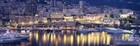 Harbor Monte Carlo Monaco Fine-Art Print