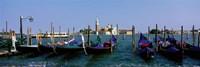 Church of San Giorgio Maggiore and Gondolas Venice Italy Fine-Art Print