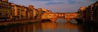 Ponte Vecchio Arno River Florence Italy Fine-Art Print