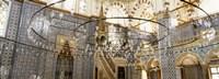 Interiors of a mosque, Rustem Pasa Mosque, Istanbul, Turkey Fine-Art Print