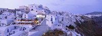 White washed buildings, Santorini, Greece Fine-Art Print
