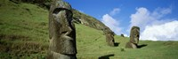 Stone Heads, Easter Islands, Chile Fine-Art Print
