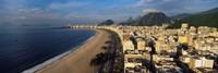 High Angle View Of The Beach, Copacabana Beach, Rio De Janeiro, Brazil Fine-Art Print