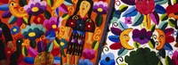 Close-Up Of Textiles, Guatemala Fine-Art Print