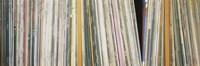 Row Of Music Records, Germany Fine-Art Print