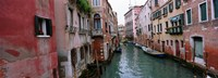 Buildings on both sides of a canal, Grand Canal, Venice, Italy Fine-Art Print