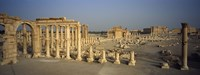 Old ruins of a temple, Temple Of Bel, Palmyra, Syria Fine-Art Print