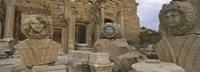 Statues in Leptis Magna, Libya Fine-Art Print