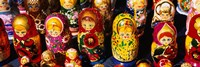 Close-up of Russian nesting dolls, Bulgaria Fine-Art Print