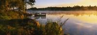 Reflection of sunlight in water, Vuoksi River, Imatra, Finland Fine-Art Print