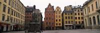 Buildings in a city, Stortorget, Gamla Stan, Stockholm, Sweden Fine-Art Print