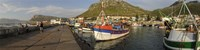 Fishing boats at a harbor, Kalk Bay, False Bay, Cape Town, Western Cape Province, South Africa Fine-Art Print