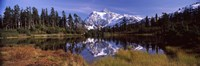 Mt Shuksan, Picture Lake, North Cascades National Park, Washington State, USA Fine-Art Print