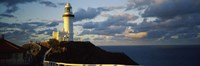 Lighthouse at the coast, Broyn Bay Light House, New South Wales, Australia Fine-Art Print