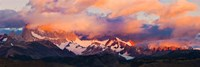 Purple Clouds Over Monte Fitz Roy, Argentina Fine-Art Print