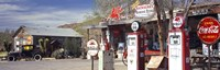 Gas Station on Route 66, Hackenberry, Arizona Fine-Art Print