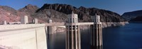 Dam on the river, Hoover Dam, Colorado River, Arizona, USA Fine-Art Print
