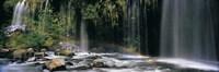 Waterfall in Dunsmuir, Siskiyou County, California Fine-Art Print