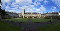 The Quadrangle in University College Cork, aka UCC,Cork City, Ireland Fine-Art Print