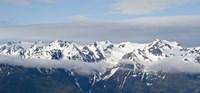 Snow covered mountains, Hurricane Ridge, Olympic National Park, Washington State, USA Fine-Art Print