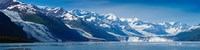 Snowcapped mountains at College Fjord of Prince William Sound, Alaska, USA Fine-Art Print