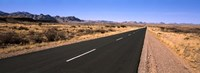 Road passing through a desert, Keetmanshoop, Windhoek, Namibia Fine-Art Print