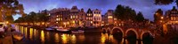 Amsterdam at Dusk, Netherlands Fine-Art Print