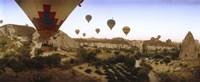 Hot air balloons, Cappadocia, Central Anatolia Region, Turkey Fine-Art Print