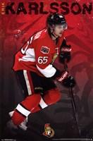 Ottawa Senators® - E Karlsson 13 Wall Poster