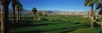 Golf Course, Desert Springs, California, USA Fine-Art Print