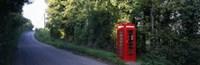 Phone Booth, Worcestershire, England, United Kingdom Fine-Art Print